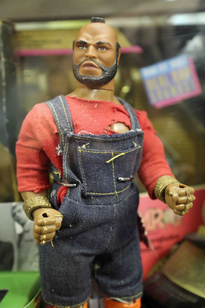 Mr. T at Branson Toy Museum