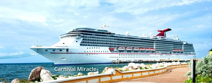 Carnival Miracle undergoing 2.0 FunShip renovations