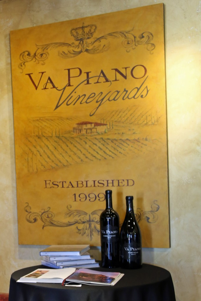 Va Piano Vineyards inside