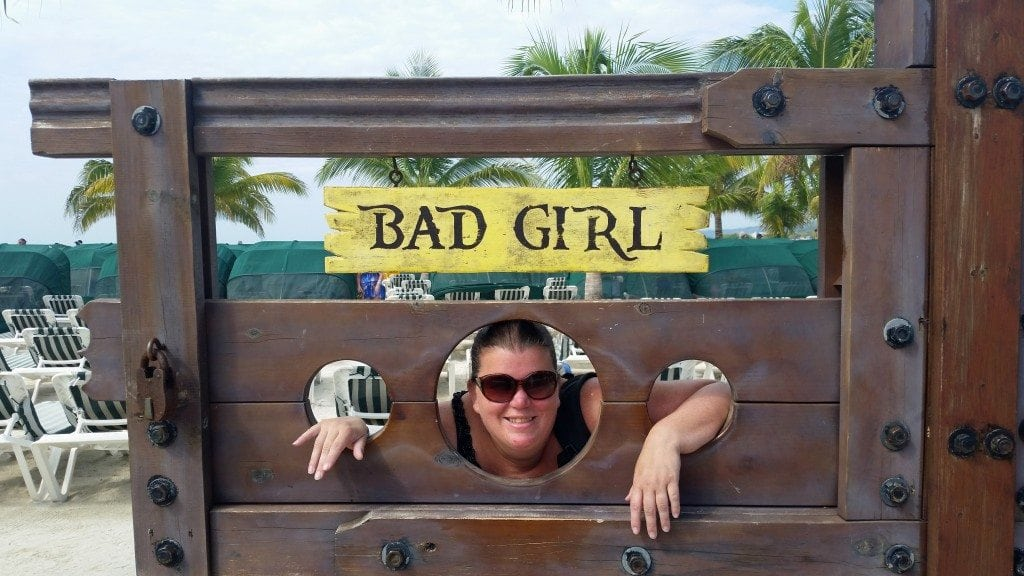 bad girl in Roatan