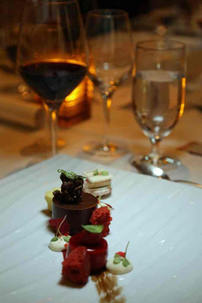 desert at Chefs Table