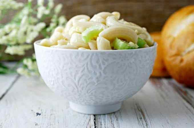 Fresh Macaroni Salad Recipe