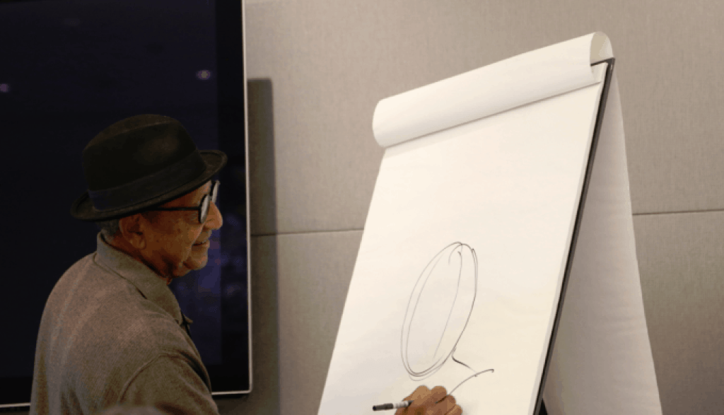 Floyd Norman Donald Duck Sketch
