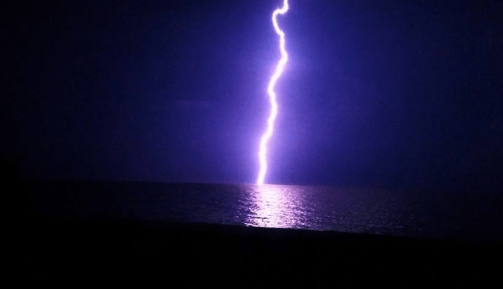 Sanibel lightning