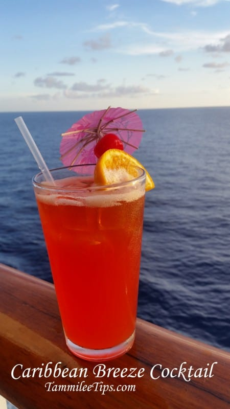 Caribbean Breeze Cocktail Recipe