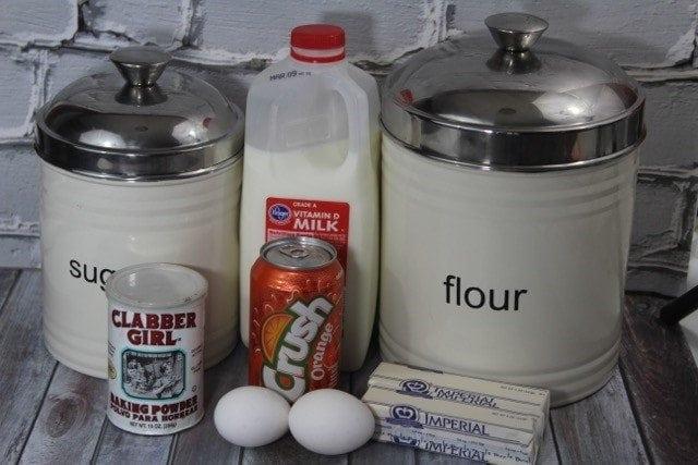 Orange Crush Soda Cupcake Recipe Ingredients