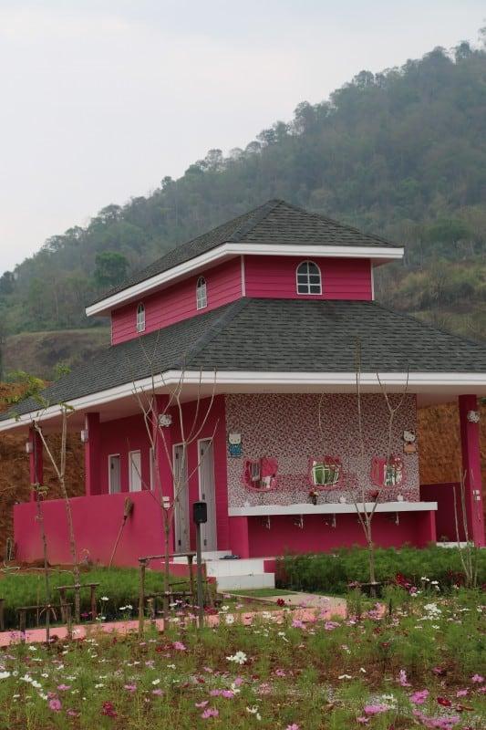 Hello Kitty Hotel in Phu Rua Thailand