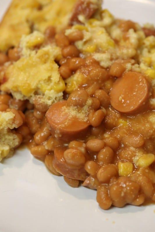 Crock Pot Corn Dog Casserole Recipe