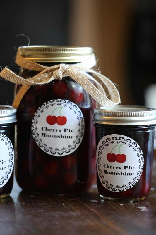 Crock Pot Cherry Pie Moonshine