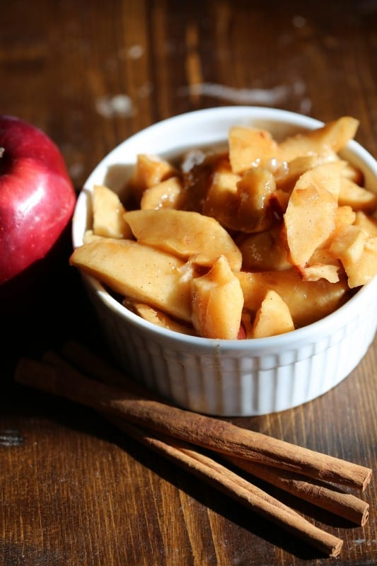 Crock Pot Fried Apples Recipe