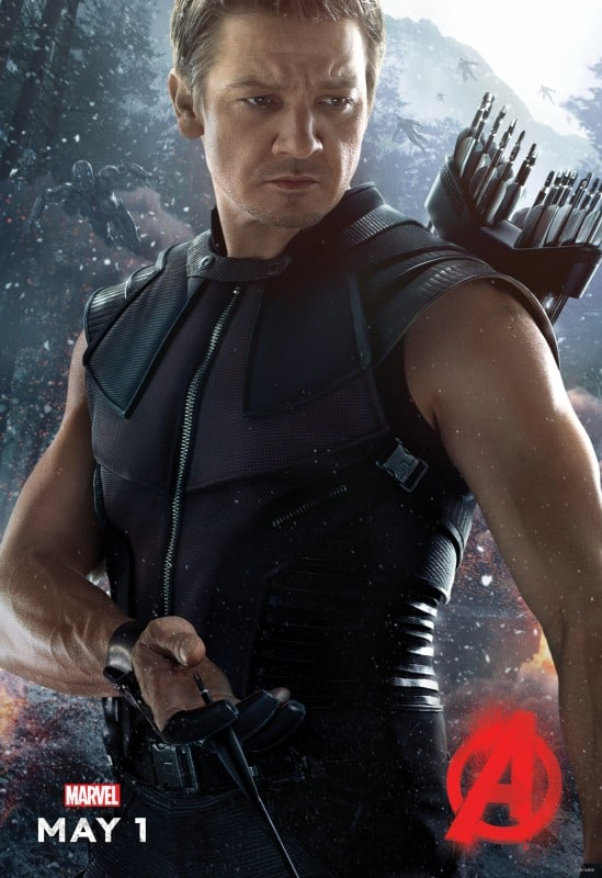 Avengers Age of Ultron Movie Poster HawkEye