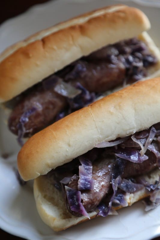 This Slow Cooker Crock Pot Beer Brats Recipe is perfect for dinner, tail-gating, or any get together you need a quick and easy recipe for