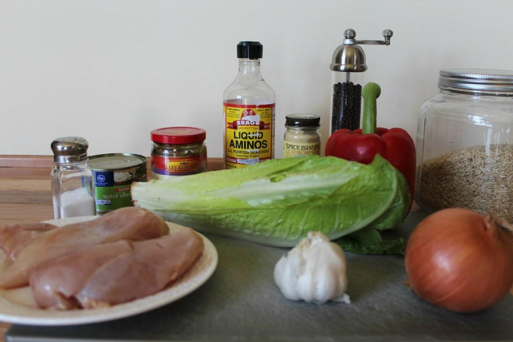 Crock Pot Asian Chicken Lettuce Wraps Recipe