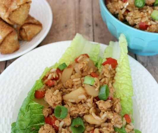 Crock Pot Asian Chicken Lettuce Wraps Recipe