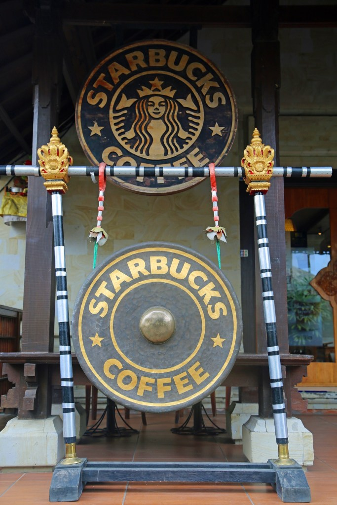 Starbucks coffee Ubud Bali