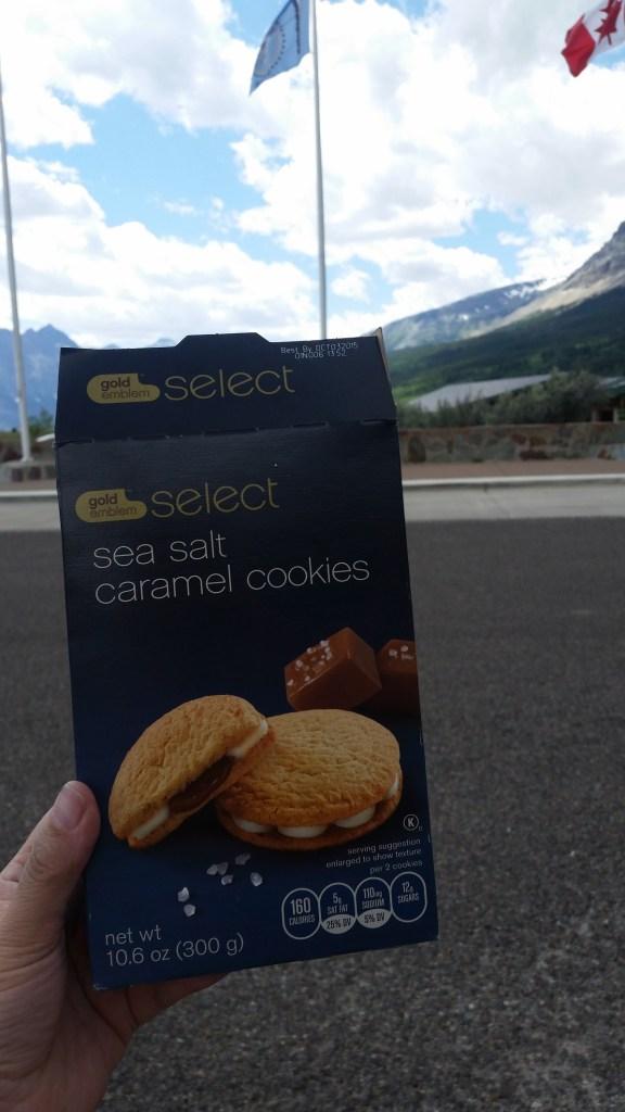 CVS Sea Salt Caramel Cookies