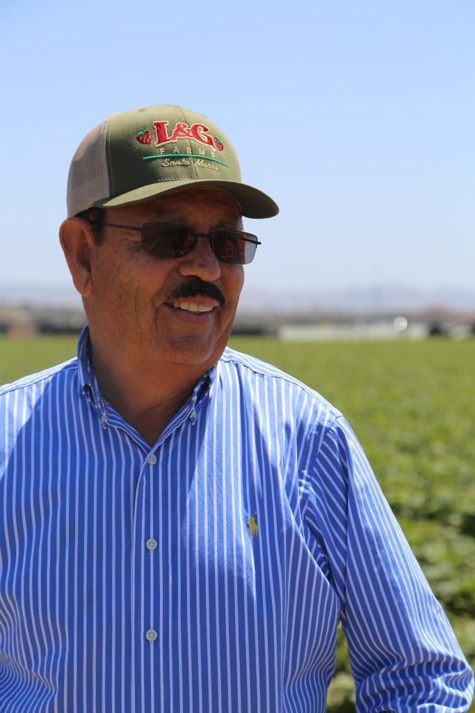 Farmer Luis Chavez