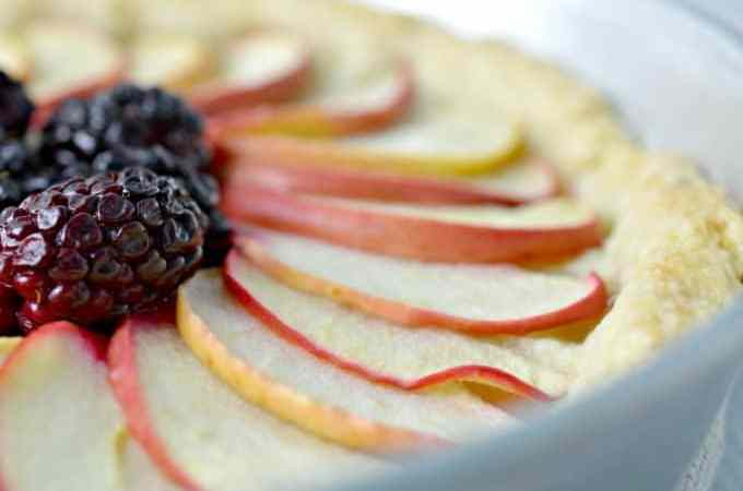 Apple Blackberry Fruit Tart Recipe