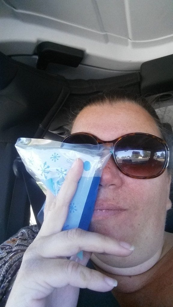 ice pack after the dentist