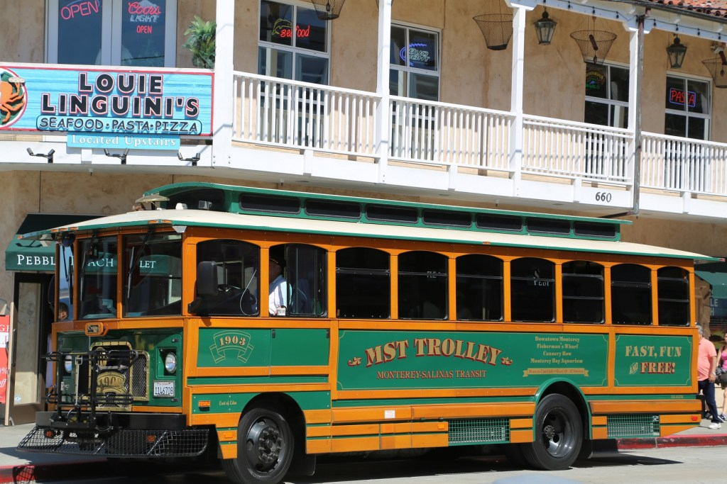 Canner Row Trolley Tour