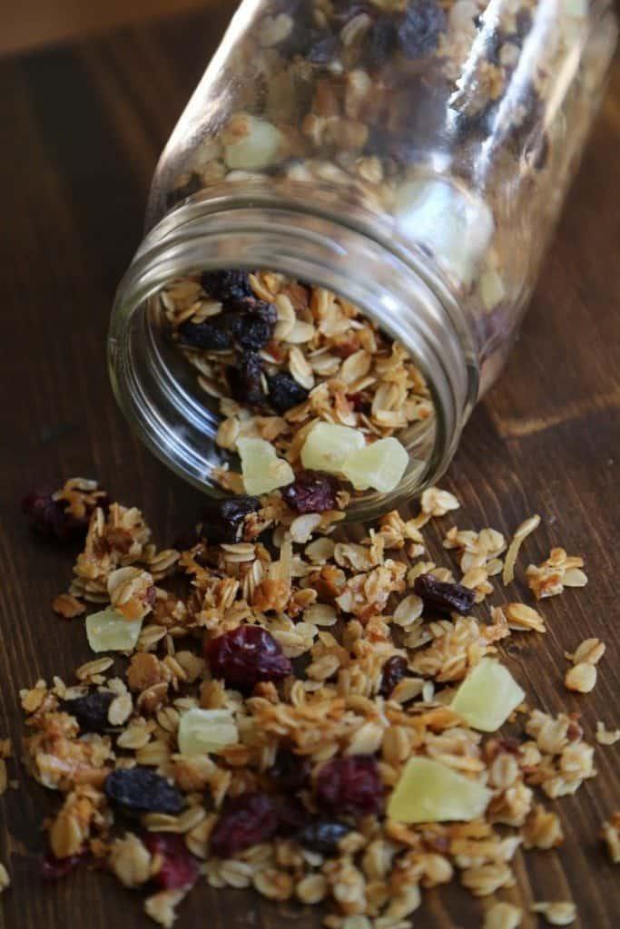 Crock Pot Granola with Dried Fruit Recipe