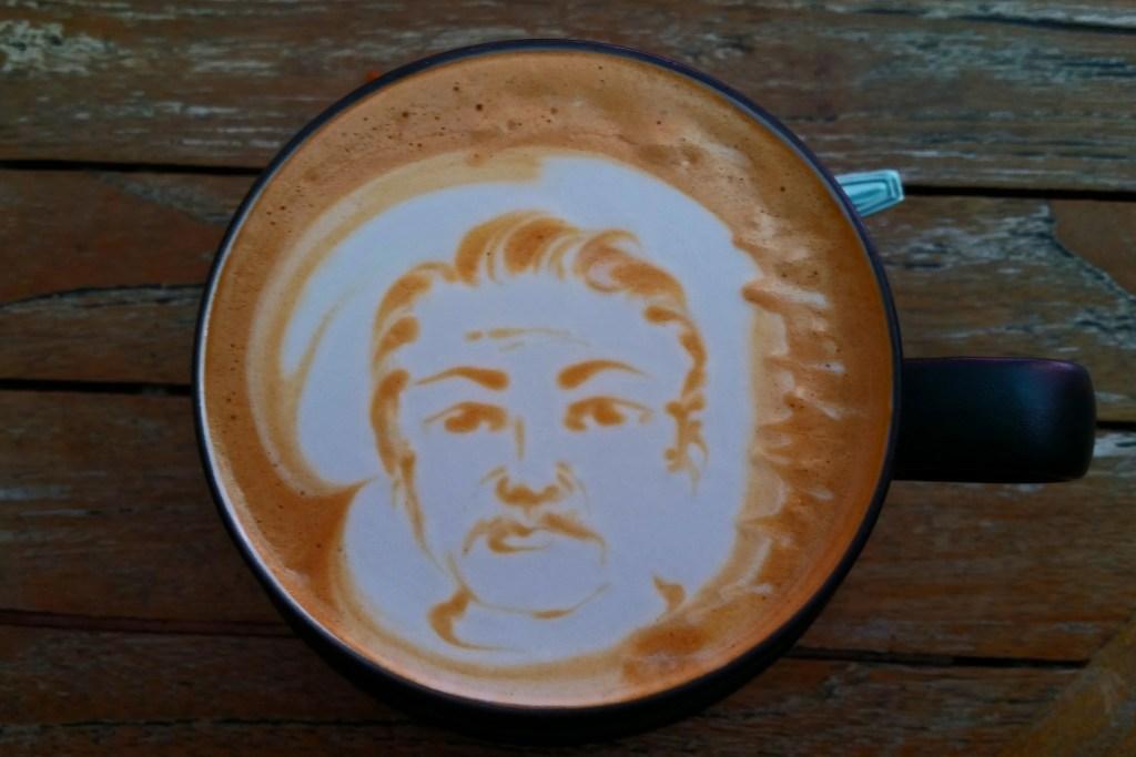 Coffee time at Mugshot Coffee Bali