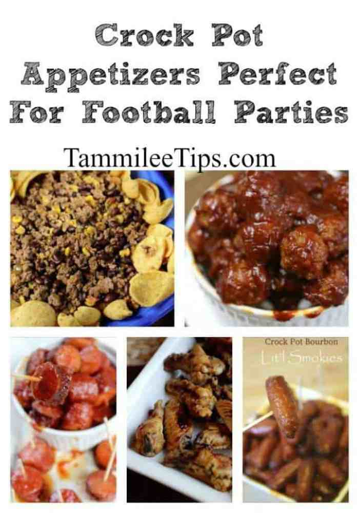 Crock Pot Appetizers Perfect For Football Parties