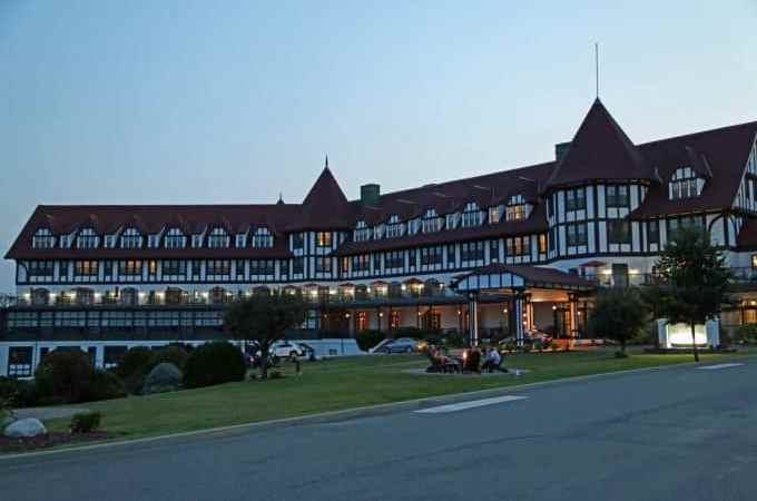 Algonquin Resort in St. Andrews by the Sea, New Brunswick