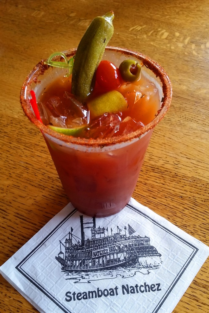 Bloody Mary on the Steamboat Natchez New Orleans