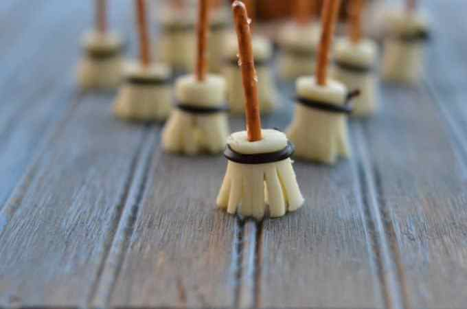 Witches Broom Sticks are a great Halloween snack!