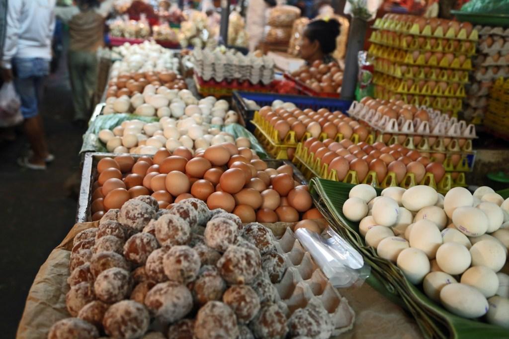 Bali fresh food market