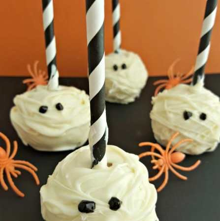 How to make Mummy Cake Pops