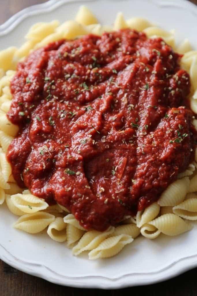 Crock Pot Marinara Sauce Recipe