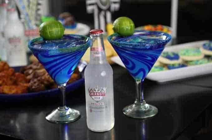 Seattle Football inspired Hawk-Arita Cocktail Recipe