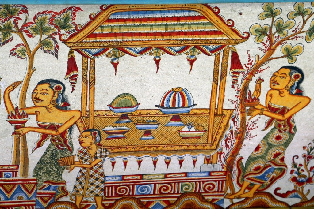 artwork at Kungklung Palace