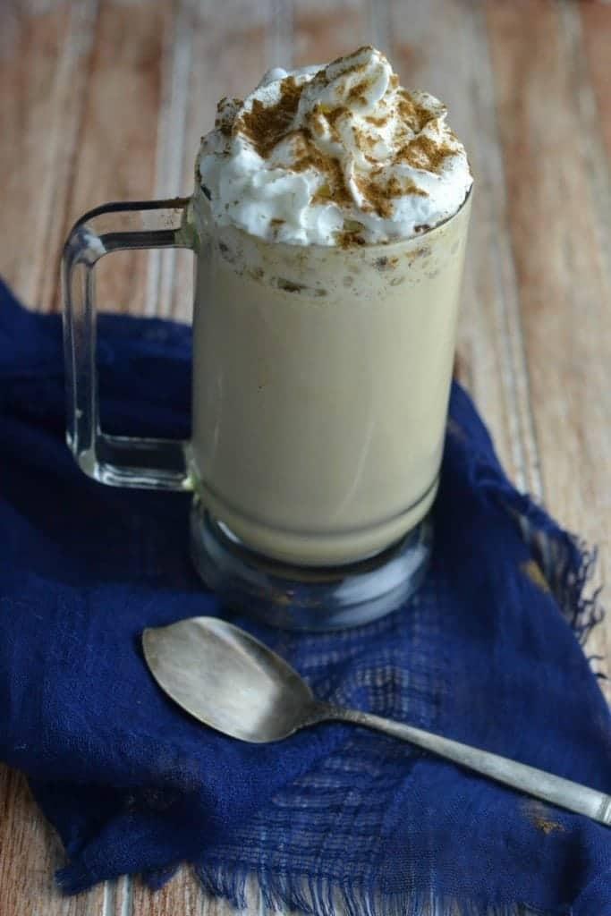 eggnog latte recipe tammileetips