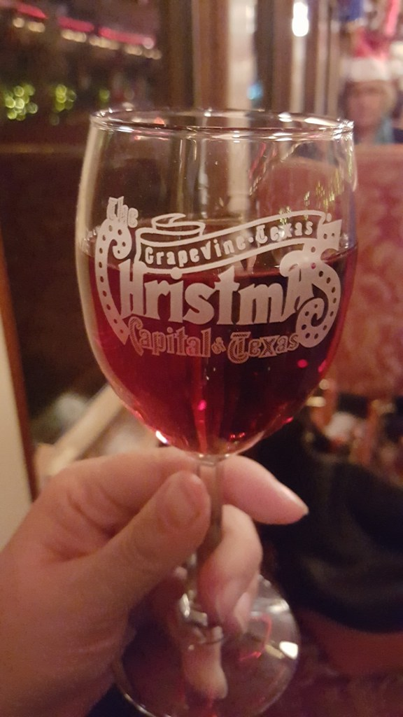 Christmas Wine Train