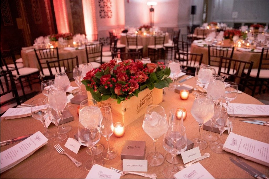 American Heritage Chocolate dinner at the National Archives