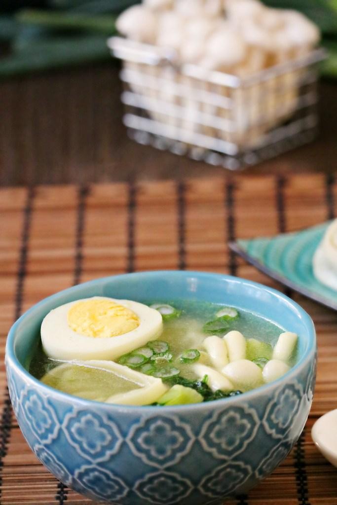 Miso Wonton & Noodle Soup Recipe