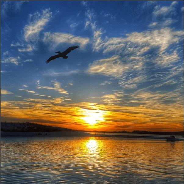Destin instagram sunset