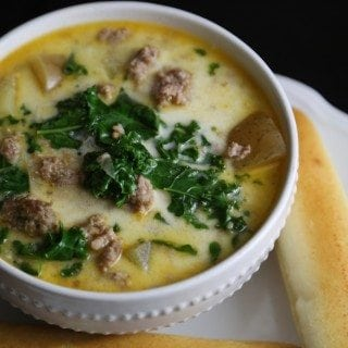 Crock Pot Olive Garden Zuppa Toscana Soup Recipe - Tammilee Tips