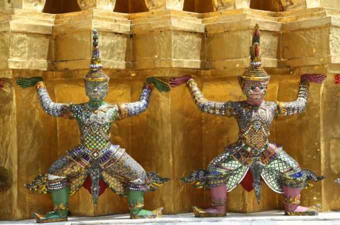 Exploring the Grand Palace in Bangkok, Thailand and Tips for planning your visit!
