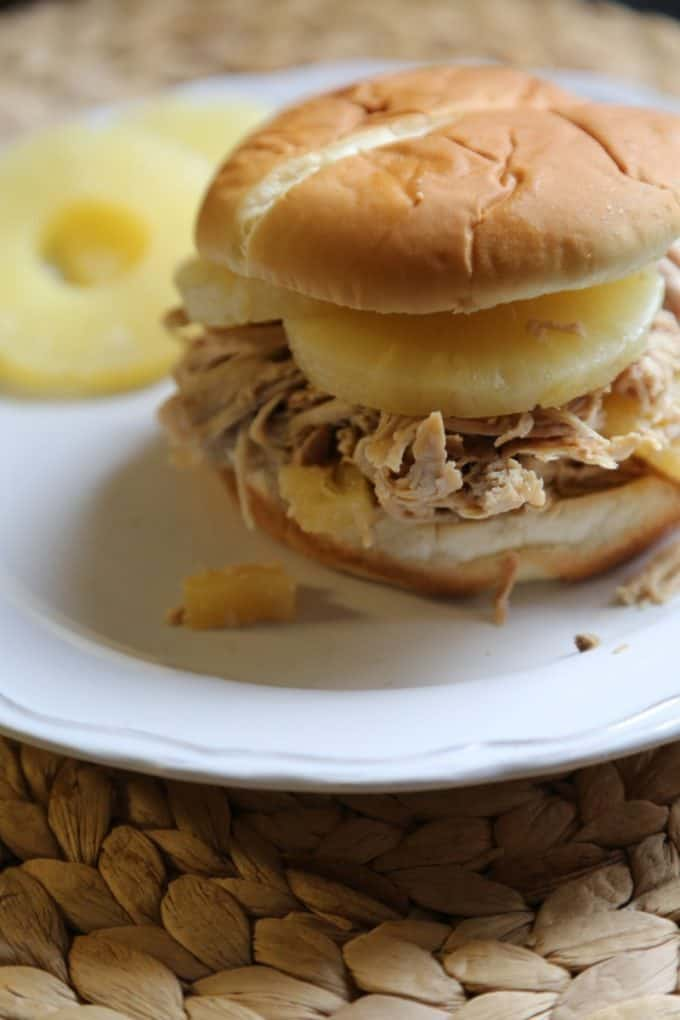 Crock Pot Hawaiian Pulled Pork Recipe! Let the slow cooker do all the work and you have a great meal ready to go!