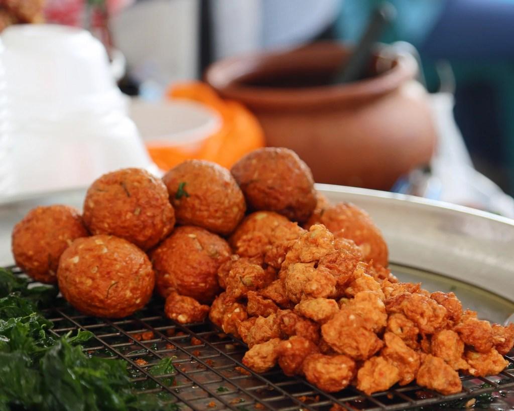 food at Sunday Market