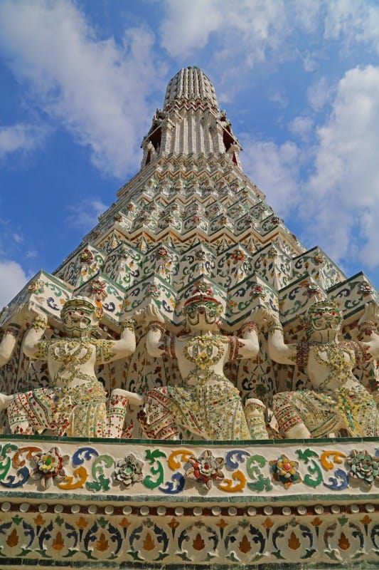 Visiting Wat Arun in Bangkok, Thailand
