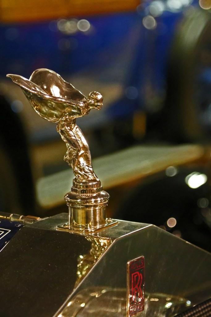 Rolls Royce emblem at Reno Auto Museum