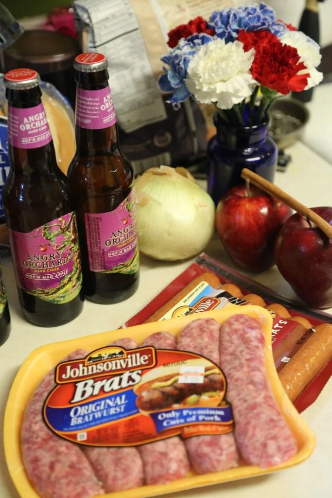 Apple Cider Beer Brat Recipe Ingredients