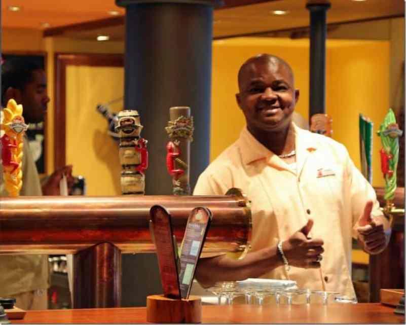 Bartender at Redfrog Pub
