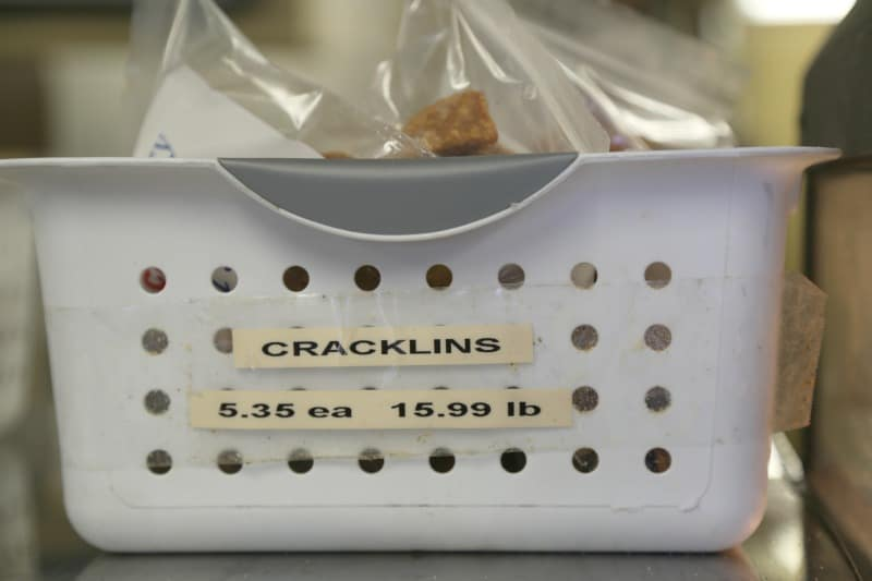 Cracklins on the Boudin Trail