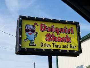 Drive thru Daiquiri Shack Lake Charles LA Things to Do